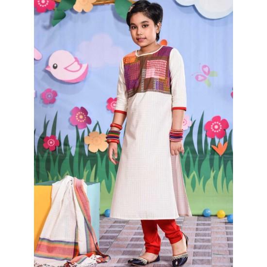 Girls Salowar Kameez Orna-24903