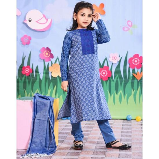 Girls Salwar Kameez Orna-24276