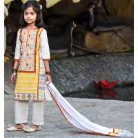 Girl's Salowar kameez Orna-24593