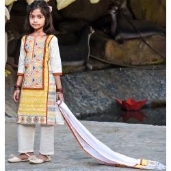 Girl's Salowar kameez Orna-24593