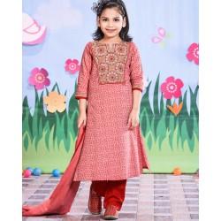 Girls Salowar Kameez Orna-24721