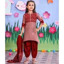 Girls Salowar Kameez Orna-24875