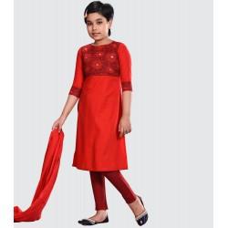 Girls Salwar kameez Orna-25575
