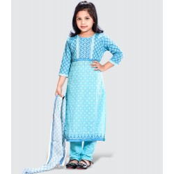 Girls Salwar kameez Orna-25582