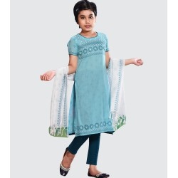 Girls Salwar kameez Orna-25583