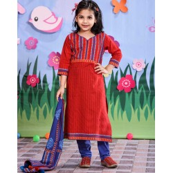 Girls Salowar Kameez Orna-25721