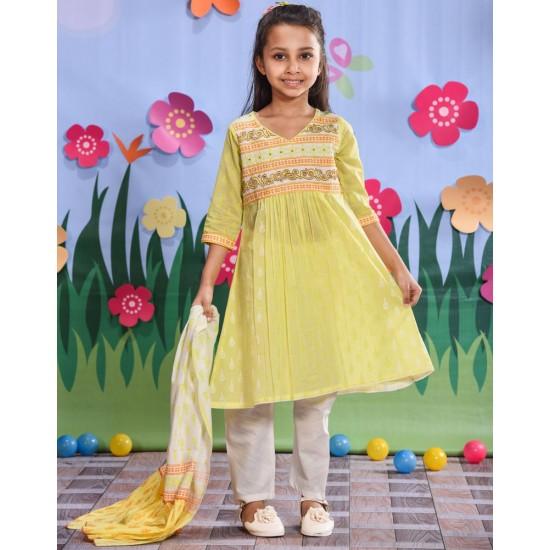 Girls Salwar Kameez Orna-24898